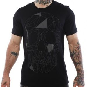 Men's Sz M Iron Fist 👊 Skull Tee Shirt 👕